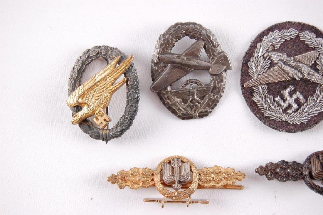 Group of 7 Reproduction German Medals and Badges - 2