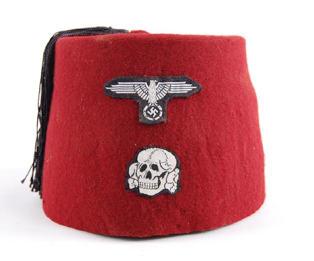 Fez with Reproduction German Patches