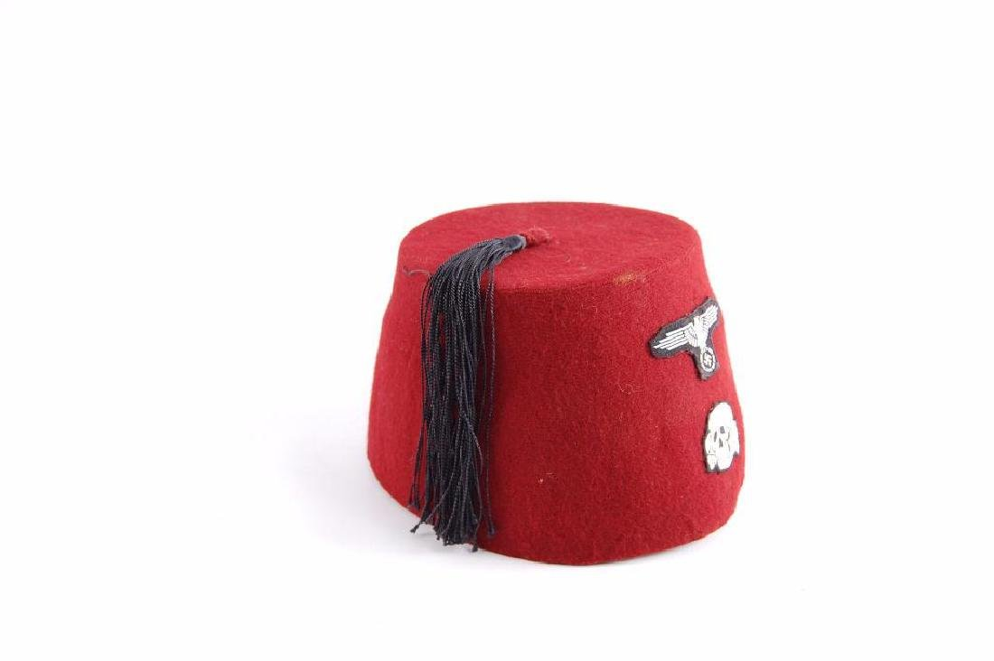 Fez with Reproduction German Patches - 2