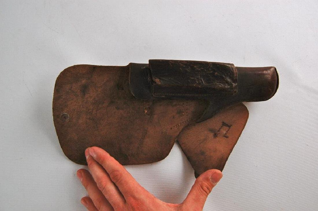 Unmarked Leather Holster - 2
