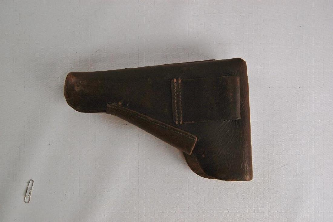 Unmarked Leather Holster - 3