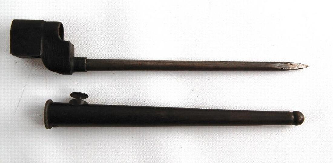 Lee Enfield Bayonet with Scabbard - 2
