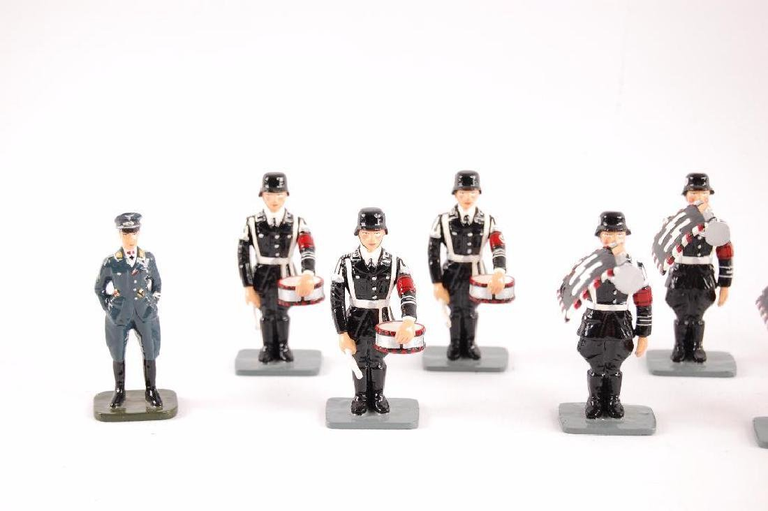 Group of 24 K&C German SS Tin Soldiers - 2