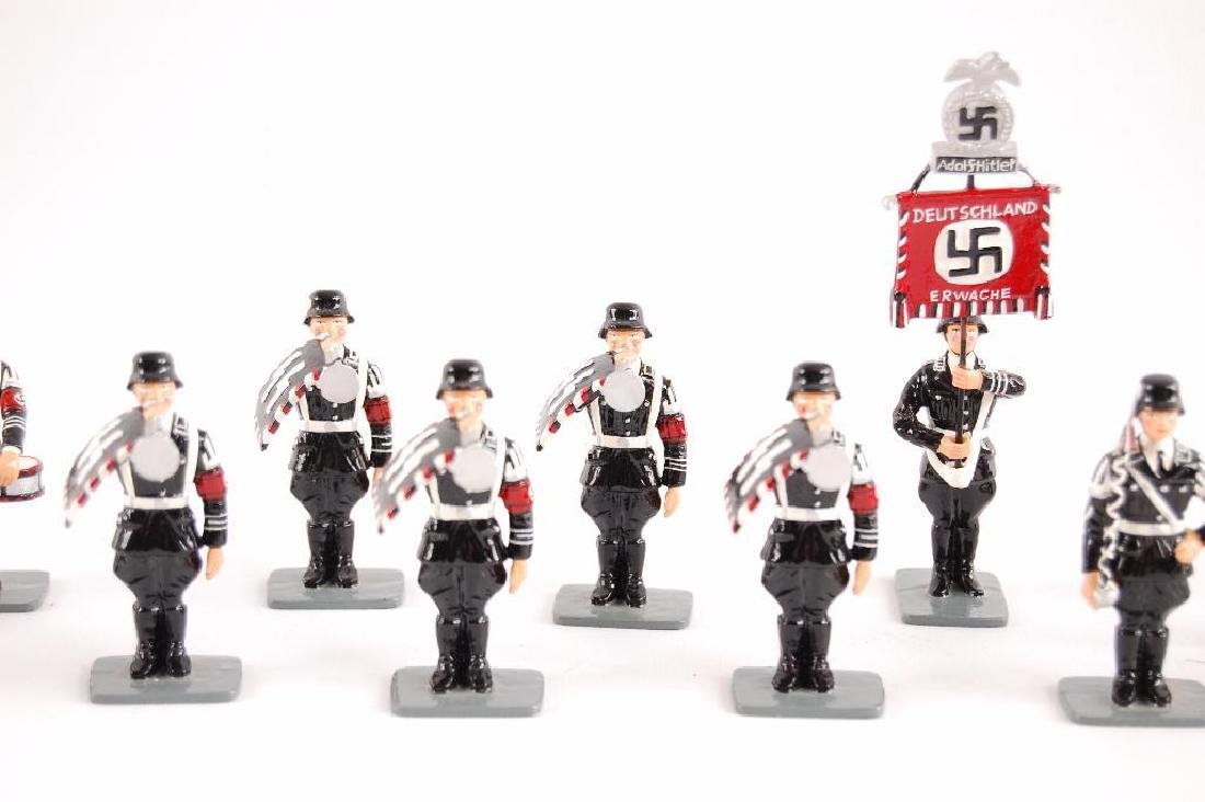 Group of 24 K&C German SS Tin Soldiers - 3