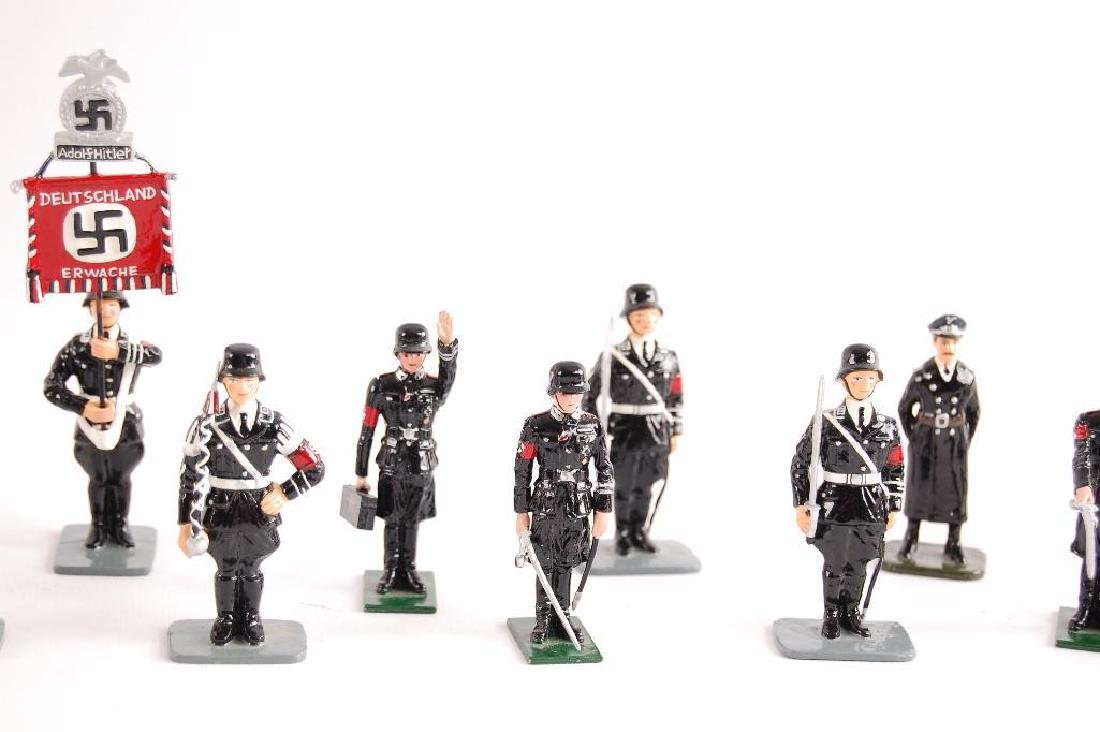 Group of 24 K&C German SS Tin Soldiers - 5