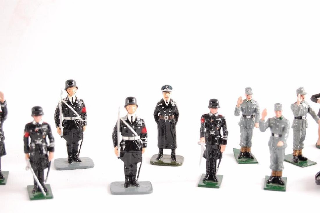 Group of 24 K&C German SS Tin Soldiers - 6
