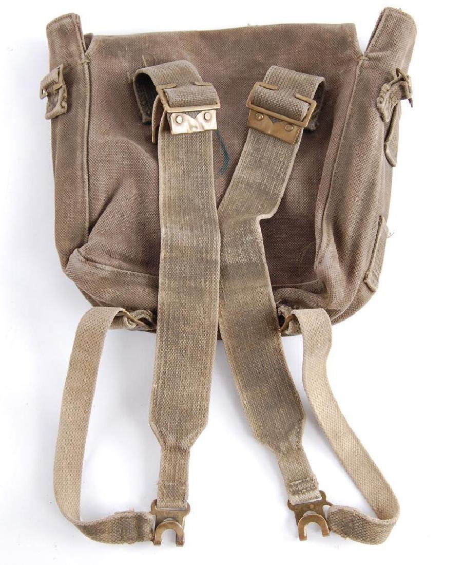 1956 French Military Backpack - 2