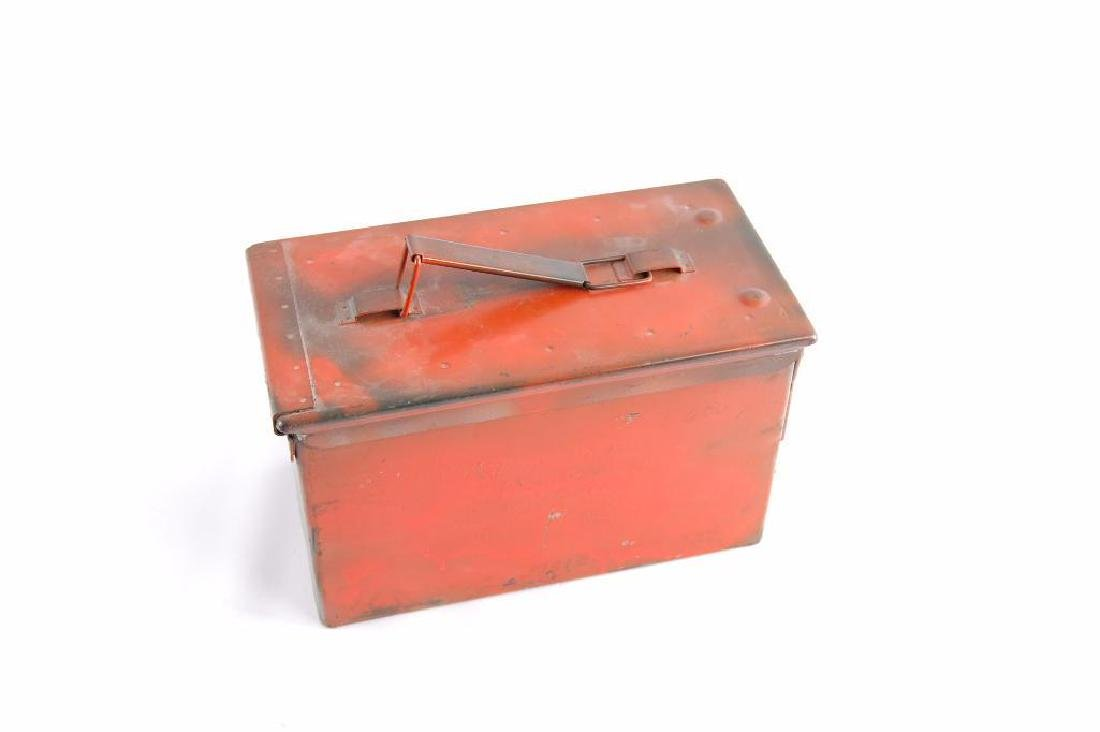 U.S. Military Ammo Box with Ammunition and Clips - 2