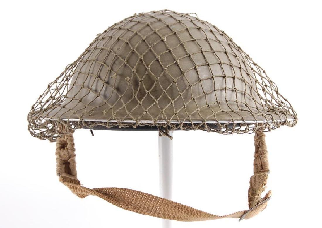 WW2 British Brodie Helmet with Netting