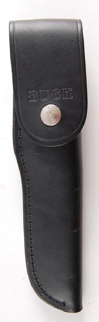 Buck 118 Fixed Knife with Leather Sheath