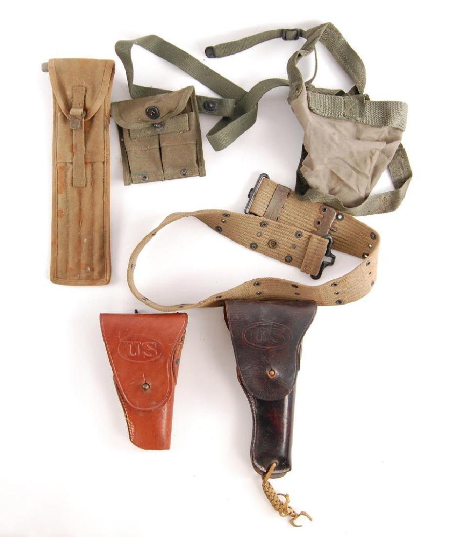 Group of U.S. Army Belts and Pouches
