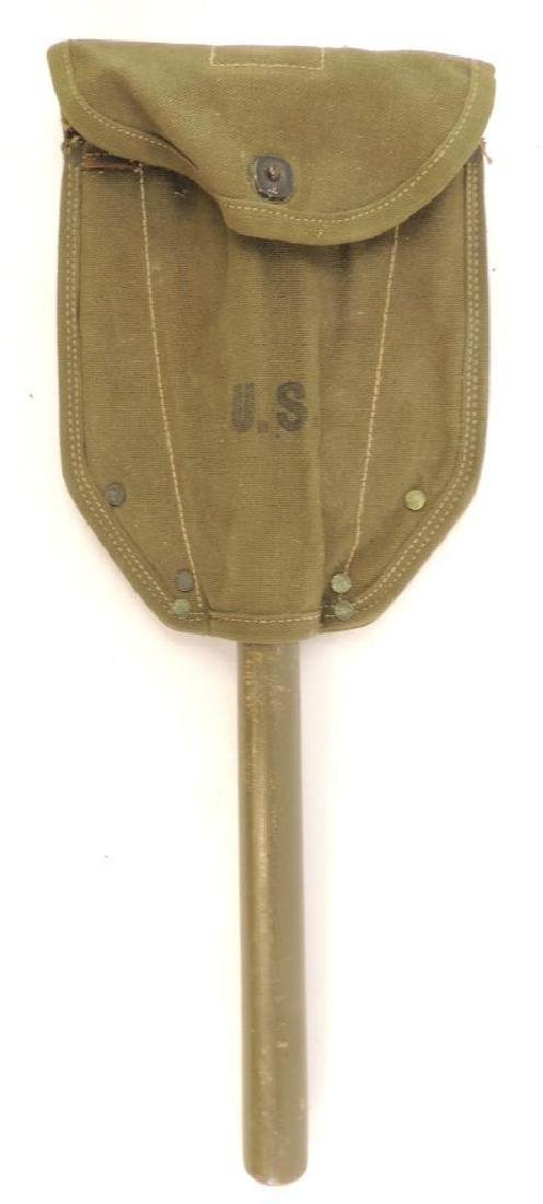 Military Shovel with Pouch