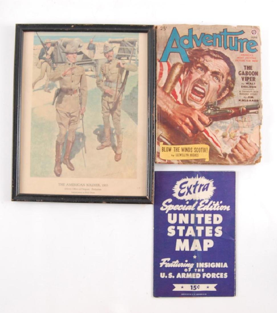 Group of Vintage Adventure Magazine and Others