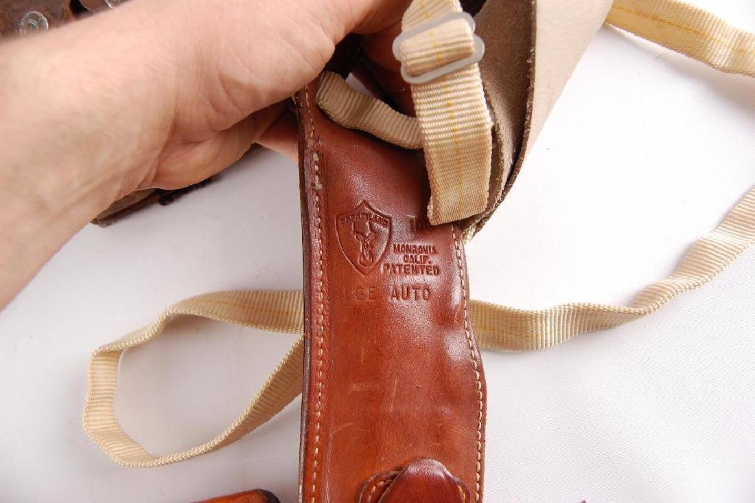 Group of Leather Shoulder Holsters - 2