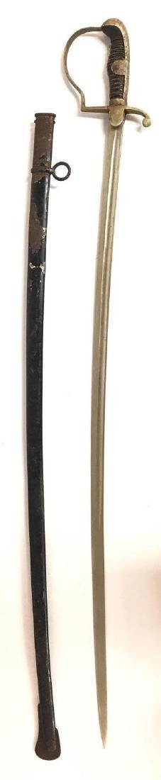 Antique German Sword with Scabbard - 3