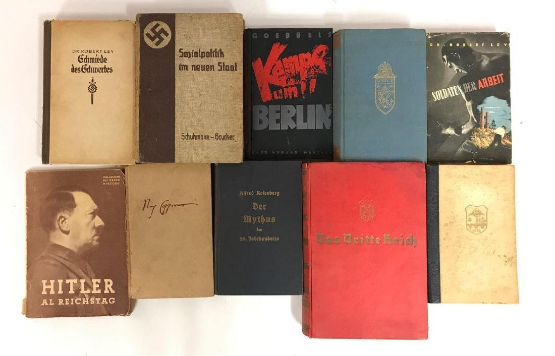 Group of 10 WW2 German Books