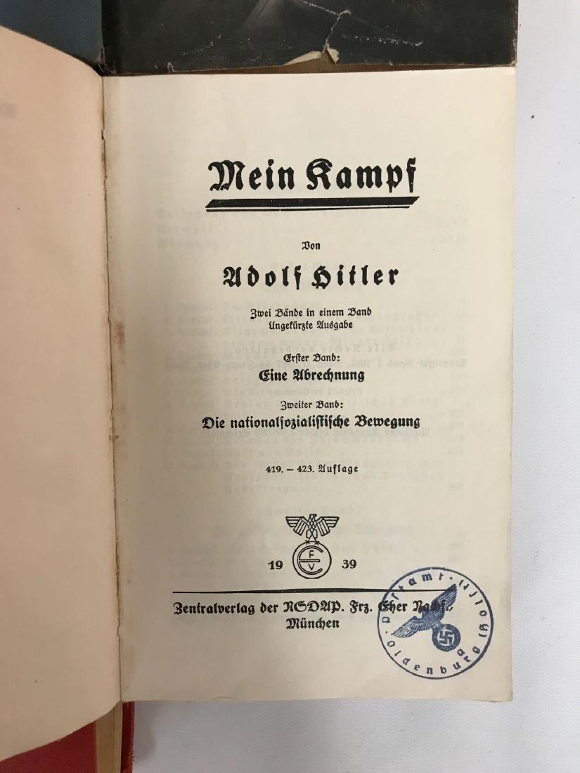 Group of 10 WW2 German Books - 3