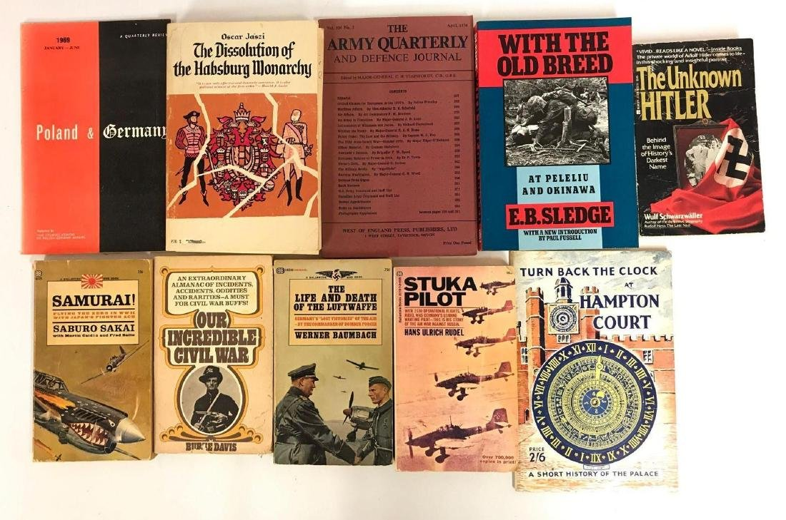 Group of 10 WW2 History Books