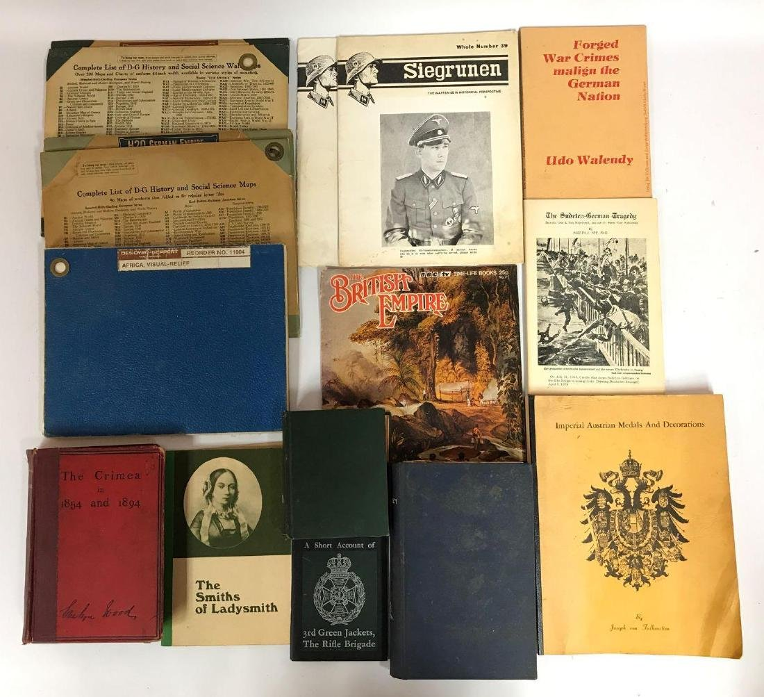 Group of 14 WW2 History Books, Reference Guides, and