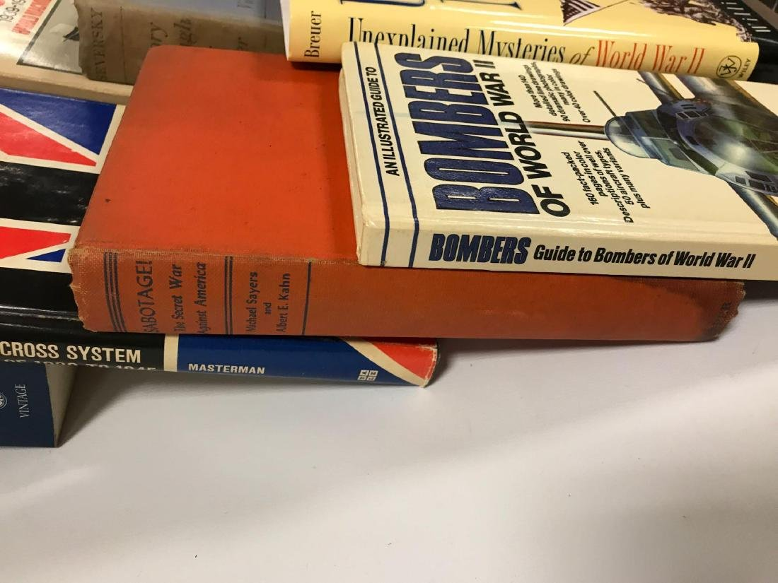 Group of 30 Hardcover and Paperback WW2 History Books - 2