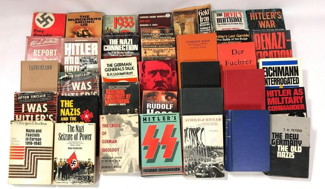 Group of 35 Hardcover and Paperback WW2 Germany History
