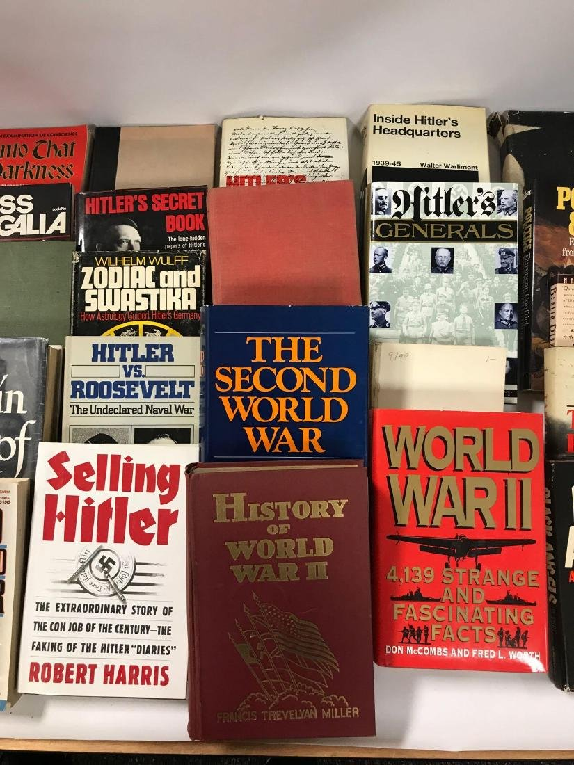 Group of 35 Hardcover and Paperback WW2 Germany History - 3