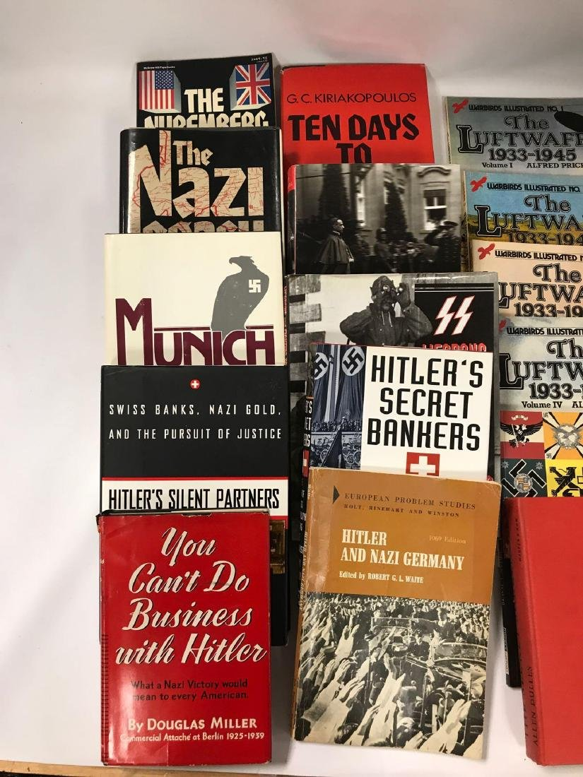 Group of 34 Hardcover and Paperback WW2 German History - 2