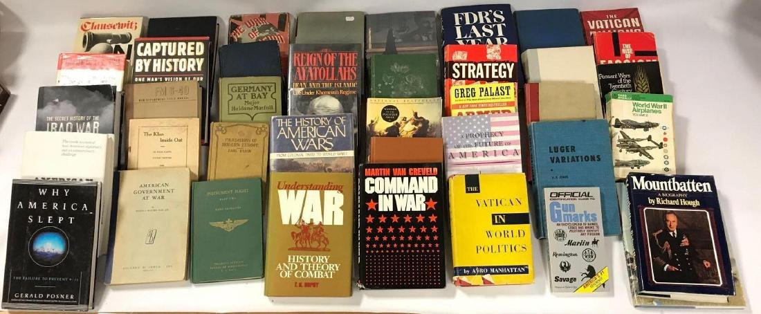 Group of 41 Hardcover andd Paperback History and