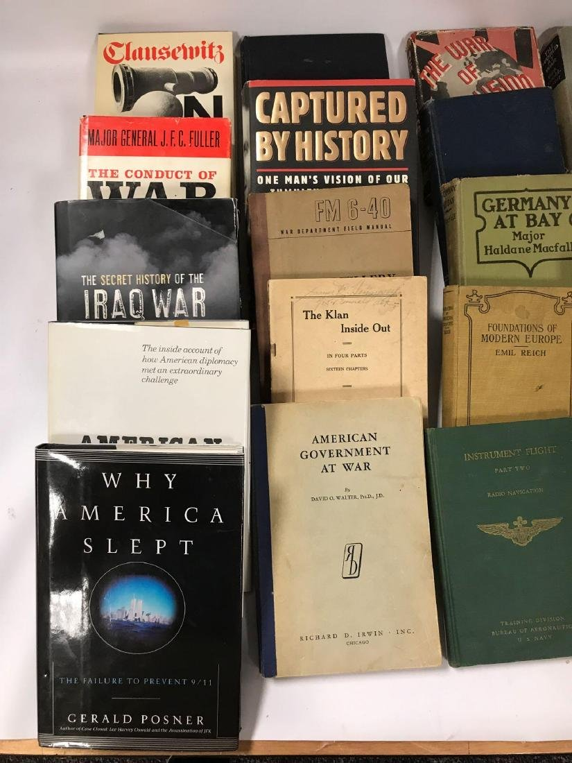 Group of 41 Hardcover andd Paperback History and - 2