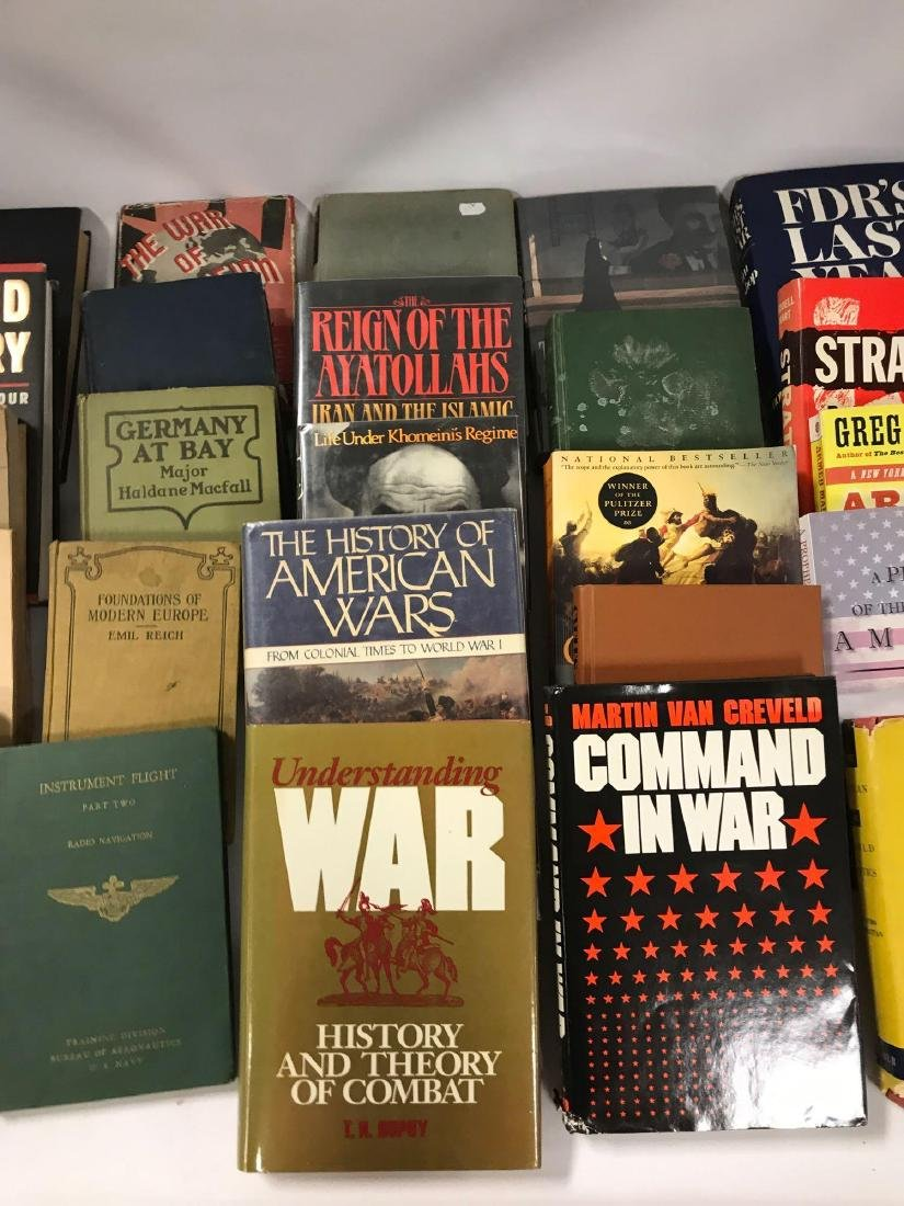Group of 41 Hardcover andd Paperback History and - 3