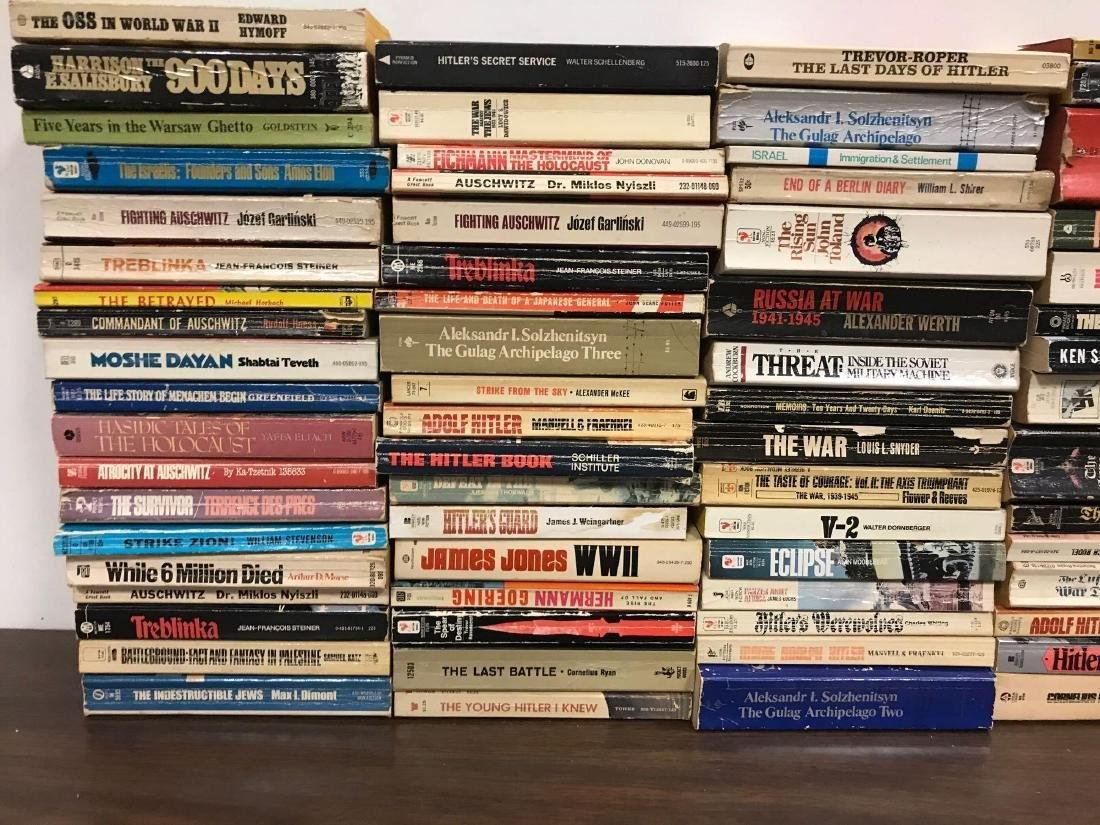 Large Group of Paperback Military History Books - 2