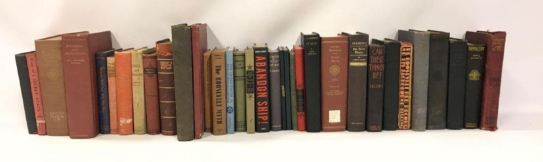 Group of 34 Hardcover Military History Books