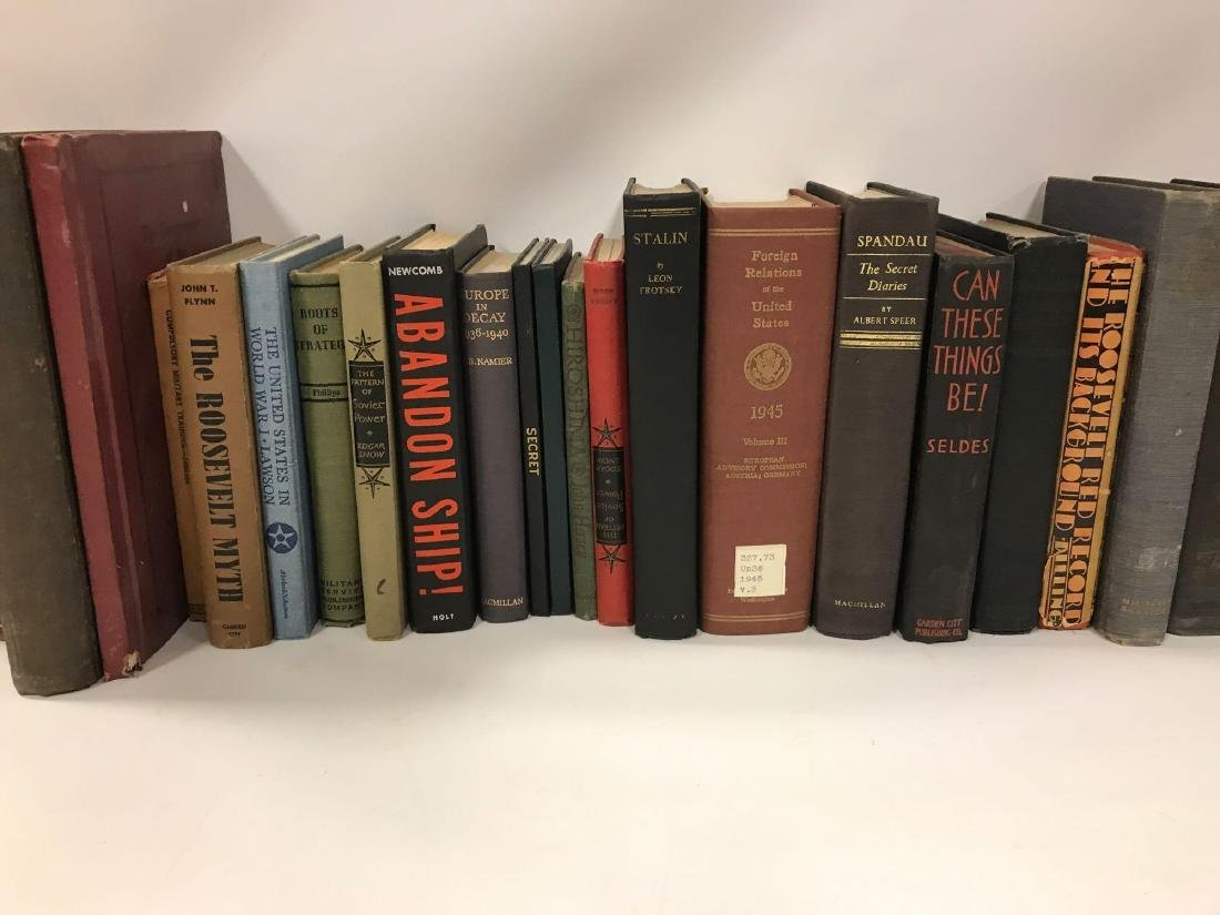 Group of 34 Hardcover Military History Books - 3