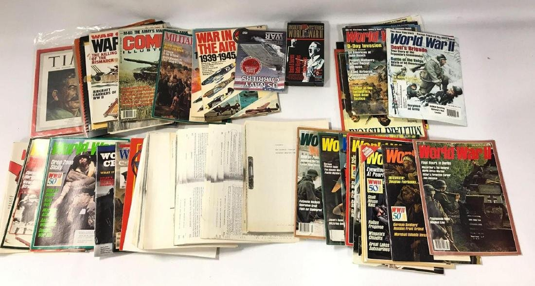 Large Group of WW2 Magazine and Others