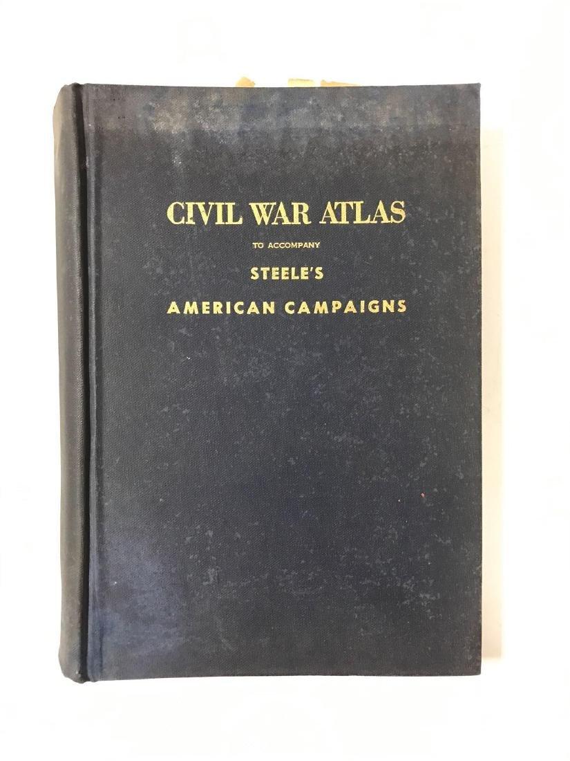 Civil War Atlas Book