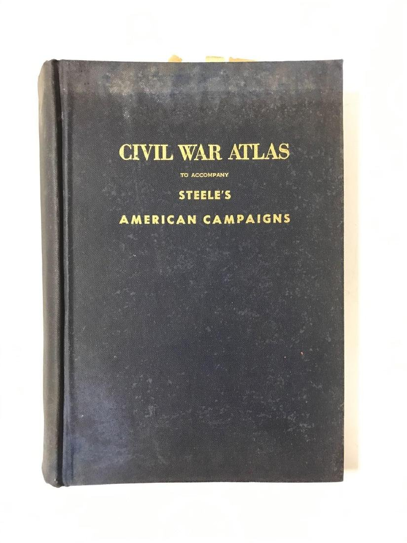 Civil War Atlas Book