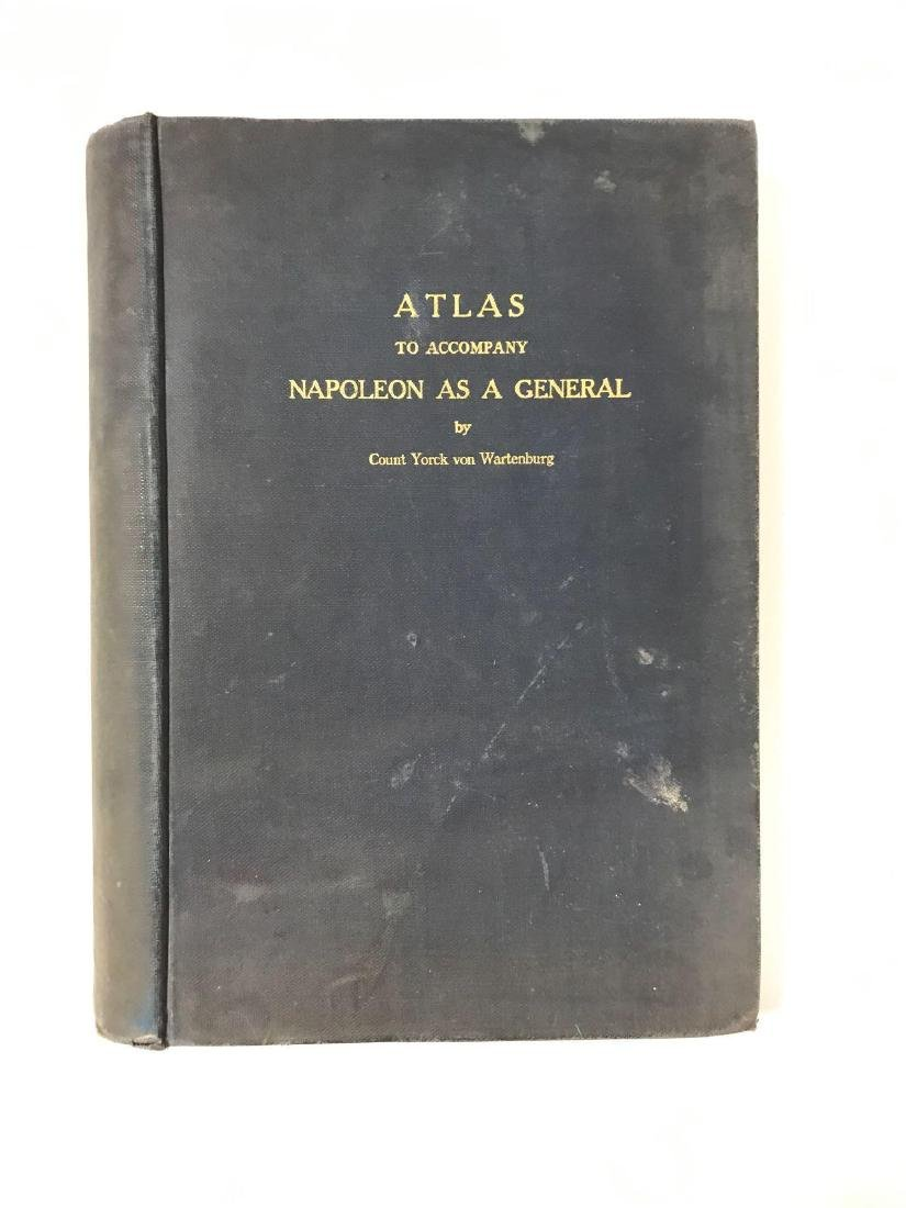 Atlas to Accompany Napoleon As A General