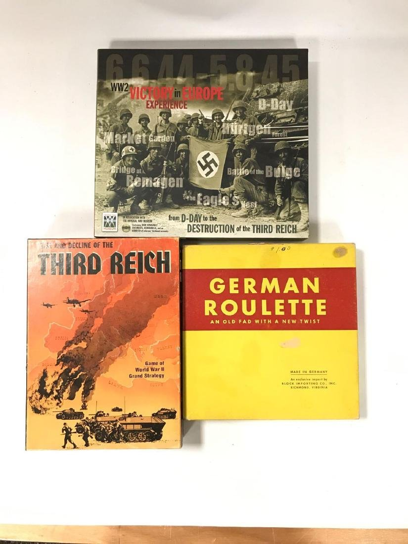 Group of WW2 German Board Games and Other