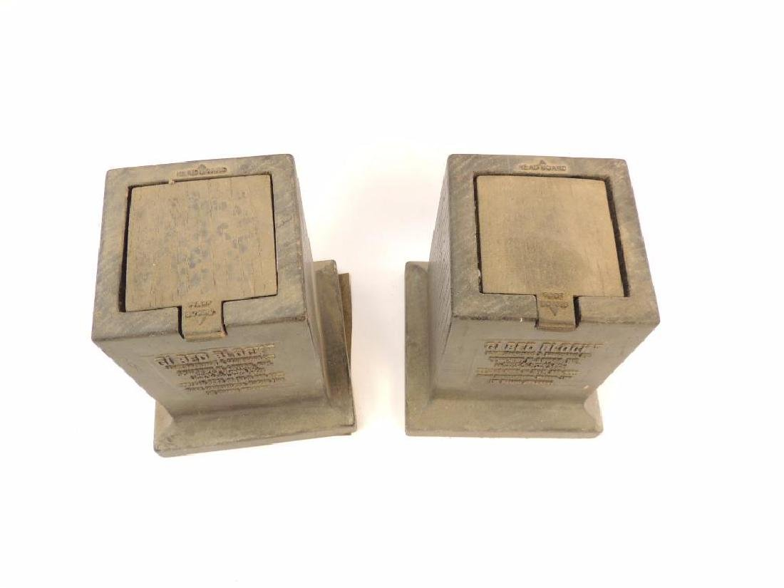 Pair of U.S. GI Bed Blocks - 3