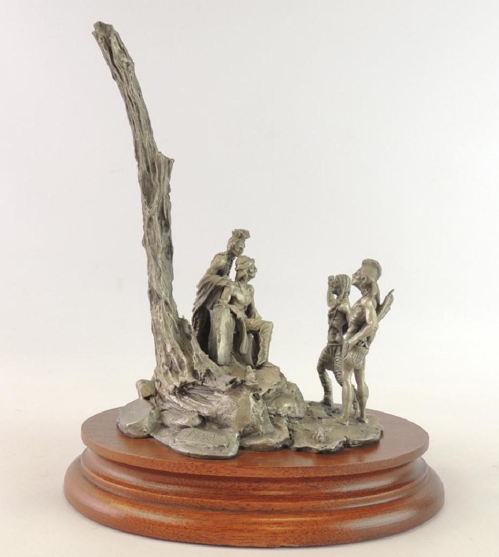 Chilmark Tecumseh's War by Polland Fine Pewter Statue