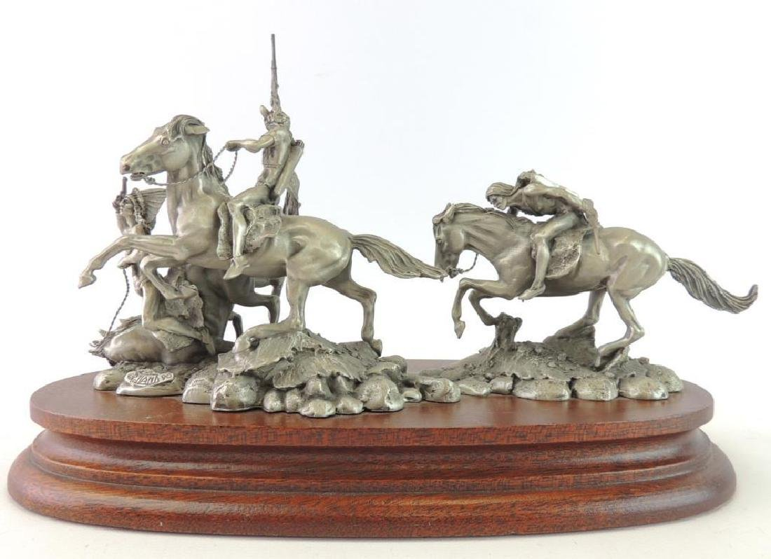 Chilmark The Red River War by Polland Fine Pewter