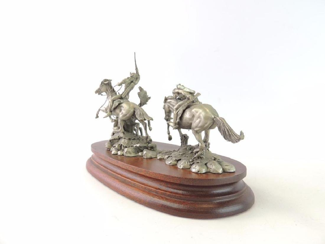 Chilmark The Red River War by Polland Fine Pewter - 2