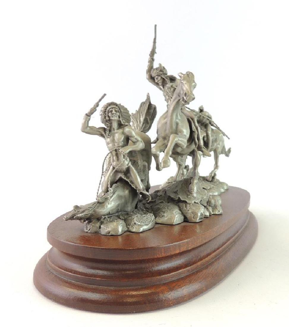 Chilmark The Red River War by Polland Fine Pewter - 3