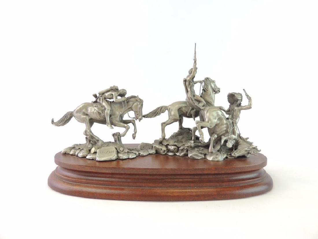 Chilmark The Red River War by Polland Fine Pewter - 4