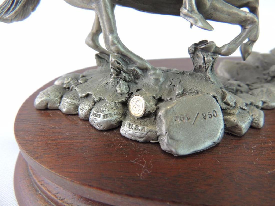 Chilmark The Red River War by Polland Fine Pewter - 5