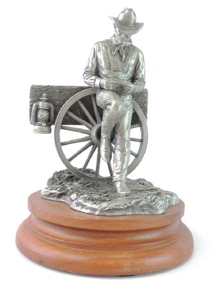 Chilmark Rollin' by L. Heyda Fine Pewter Statue