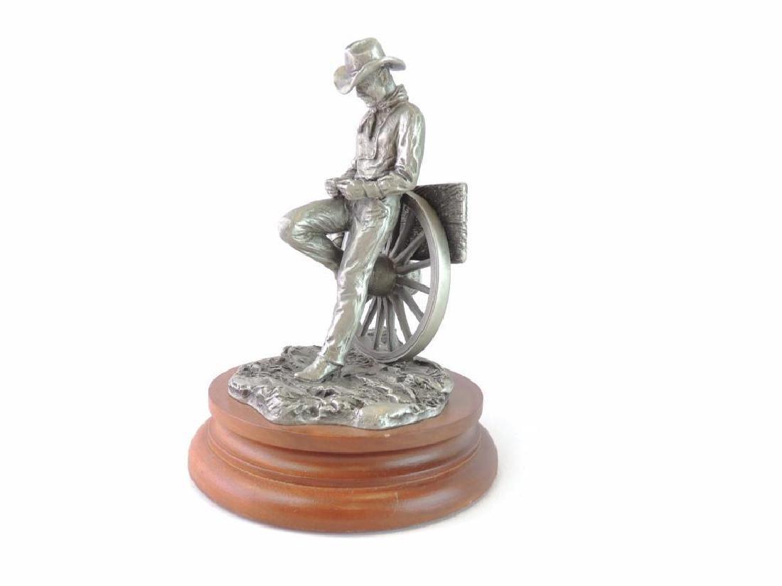 Chilmark Rollin' by L. Heyda Fine Pewter Statue - 2