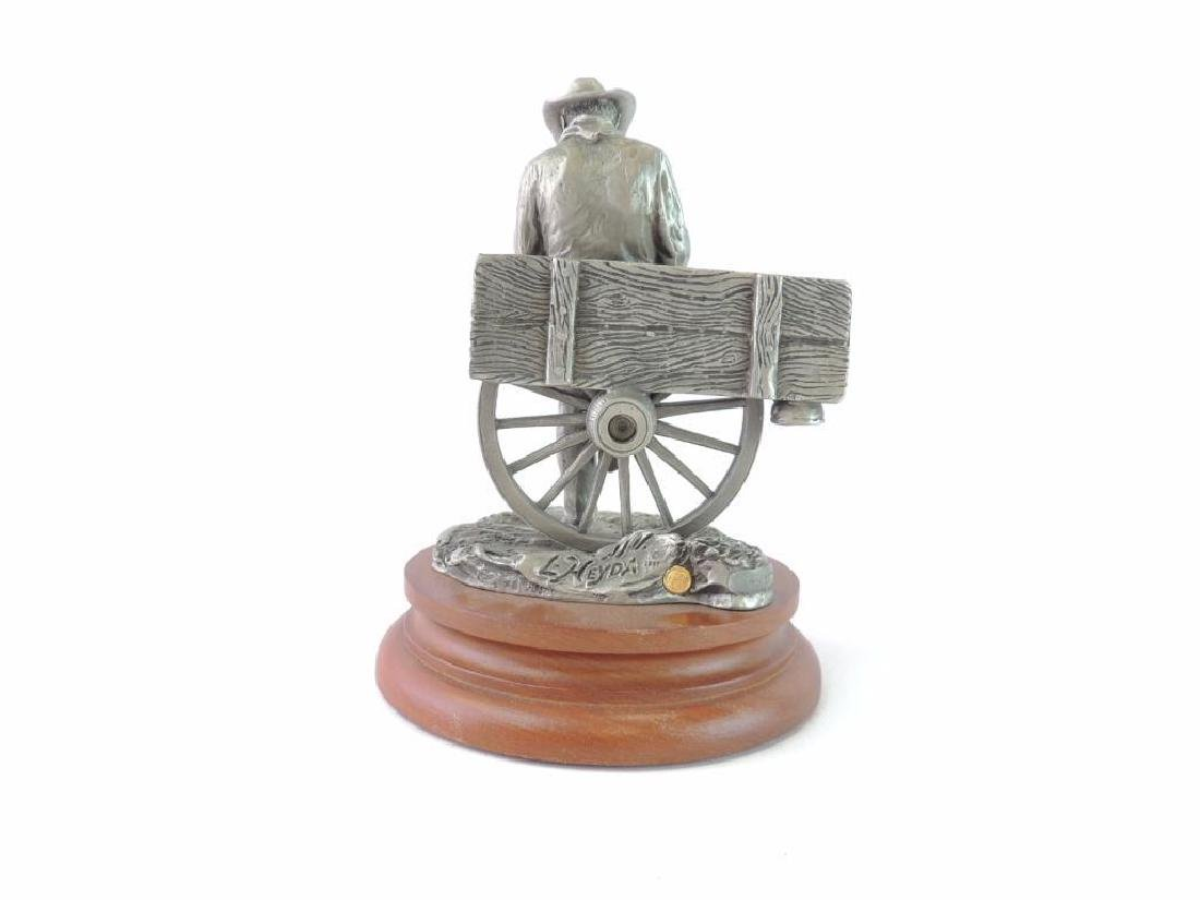 Chilmark Rollin' by L. Heyda Fine Pewter Statue - 3