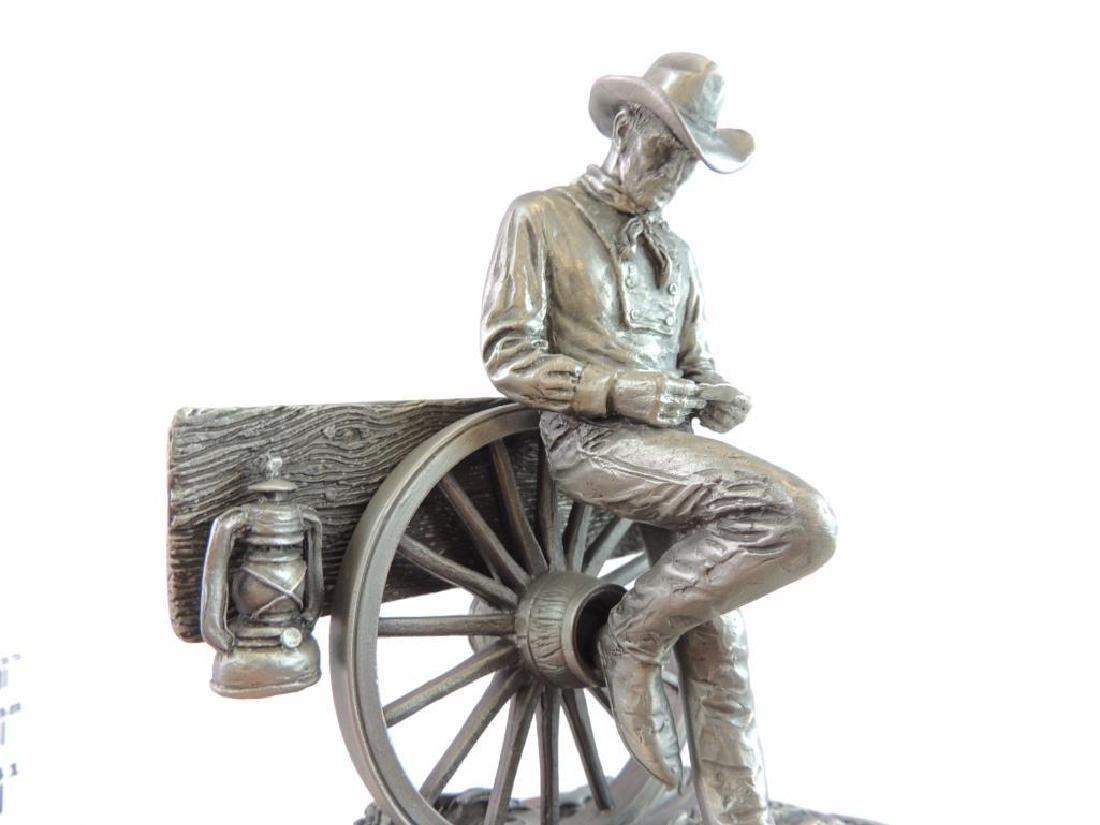 Chilmark Rollin' by L. Heyda Fine Pewter Statue - 6