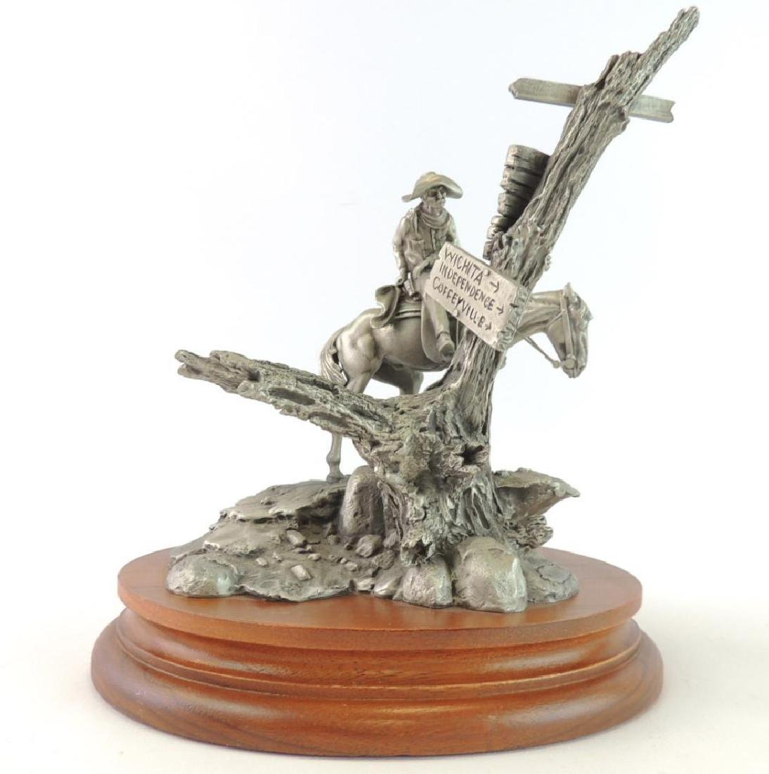 Chilmark Wanted by Polland Fine Pewter Statue